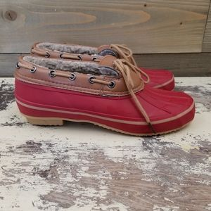 SOLD! Comfortview Low Profile Duck Shoes size 9W